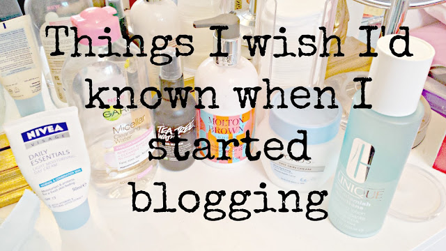 THINGS I'VE LEARNT AS A BLOGGER