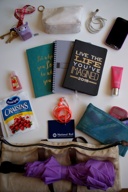 What's in my bag – Intern Edition