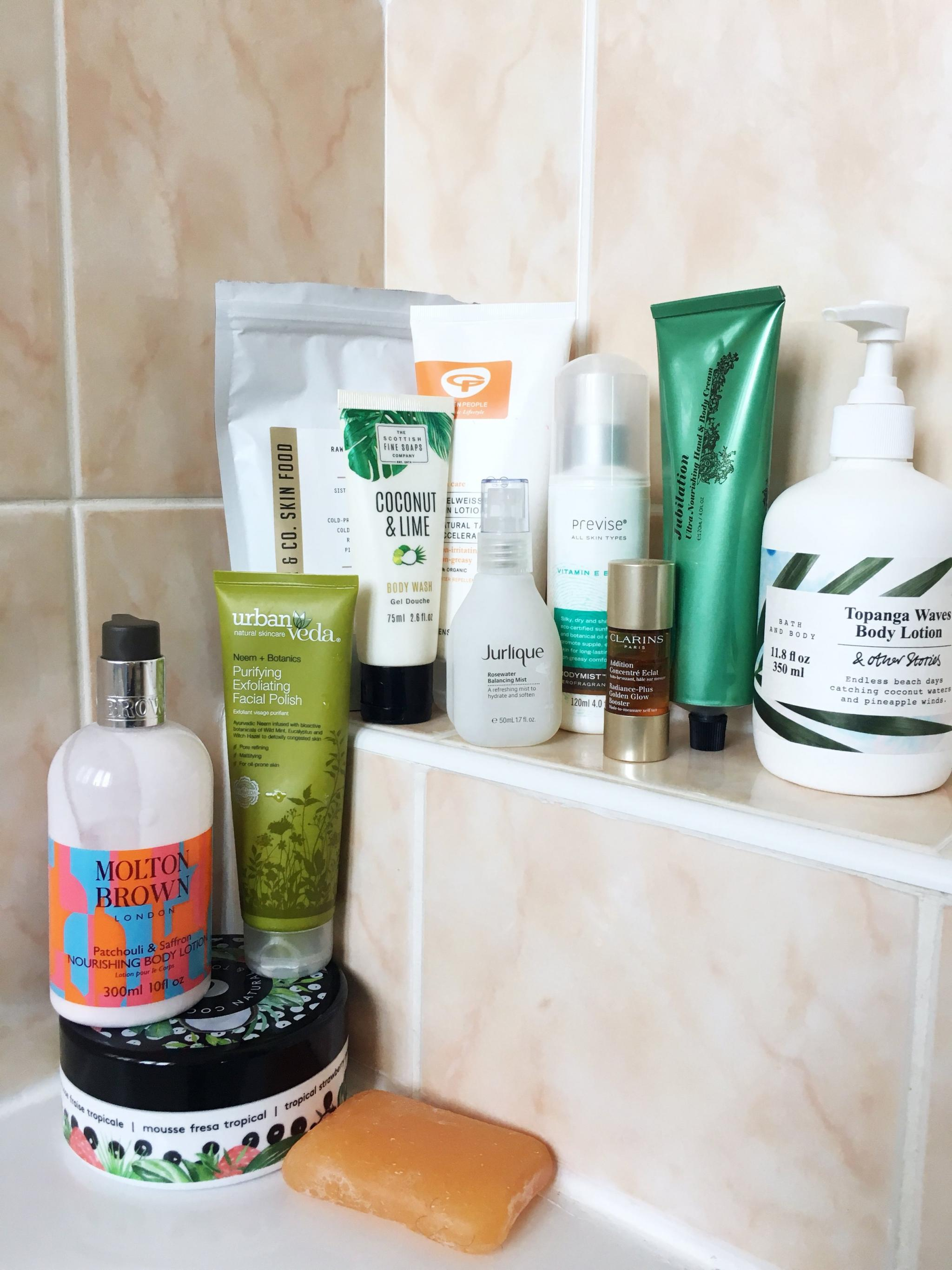 Summer bodycare edit